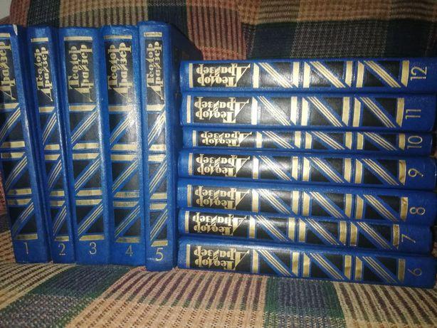 Теодор Драйзер 12 томів 1986 рік