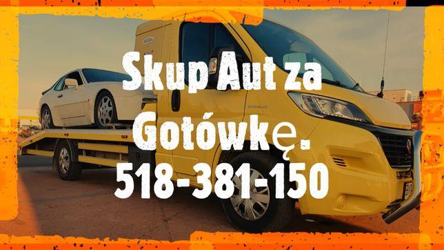 Auto Skup Aut za Gotówkę Złomowanie Aut Każdy Stan Najszybciej