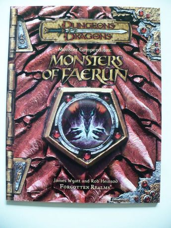 Dungeon & Dragons Monster Compendium: Monsters of Faerun Ed. 3/3.5
