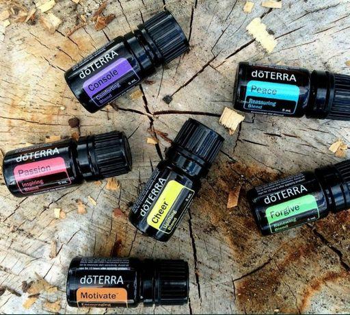 Olejki eteryczne doTERRA aromaterapia