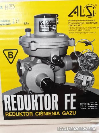 Reduktor ciśnienia gazu FE10