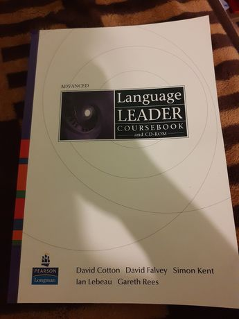 Language Leader Advanced z CD Cotton Falvey Kent Lebeau nowa