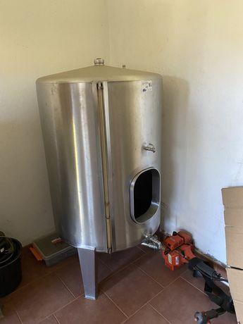 Cuba inox 500 litros