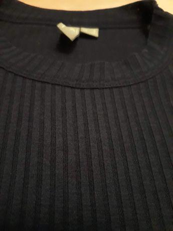Bluzka czarna w prążki  z Asos