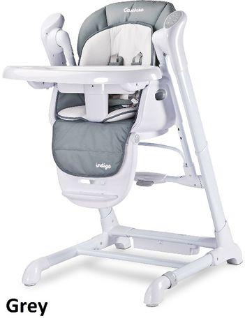 Indigo 2w1 - Huśtawka + Krzesełko do karmienia Będzin