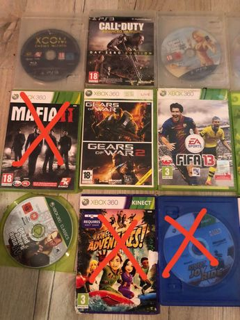 Gry Xbox 360 ps3