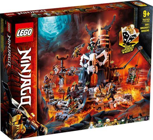 Lego Ninjago Подземелье колдуна-скелета 71722