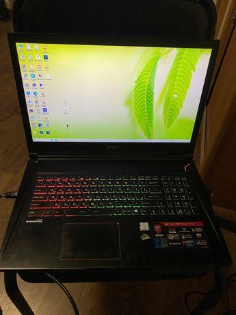 Игровой ноутбук MSI