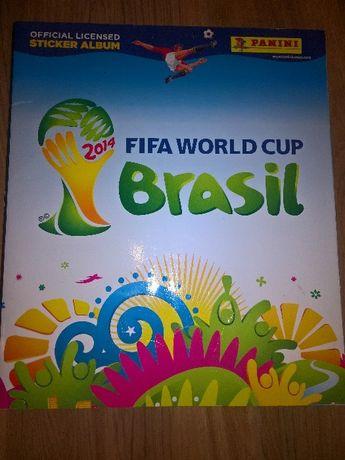 Album Panini World Cup Brasil 2014 + indeks kart Adrenalyn