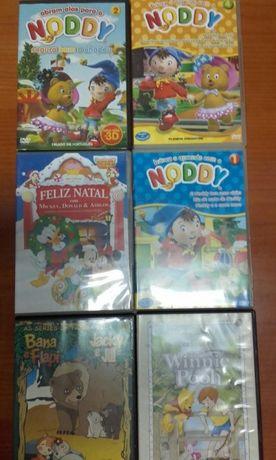Dvds.Filmes para crianças .como novos