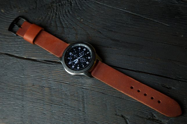 Ремешок на Samsung Galaxy Watch Gear S3 Frontier ручная работа