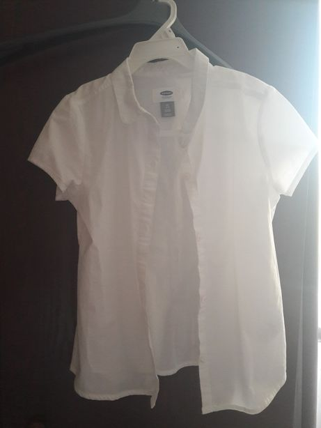 Biała bluzka Old Navy 6-7 lat