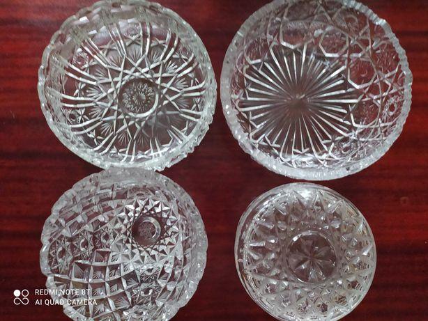 хрустальные  вазы для фруктов или конфет