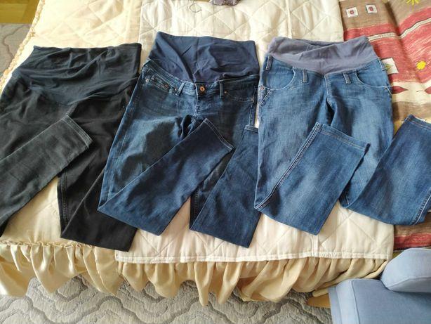 Spodnie ciążowe jak nowe!