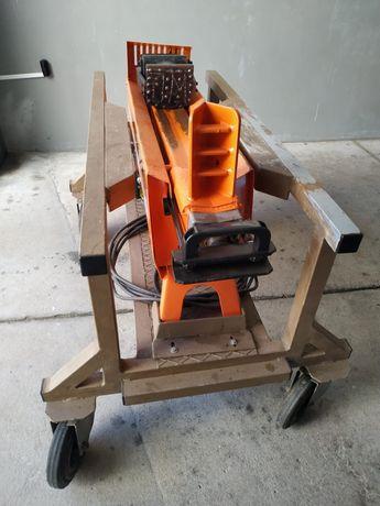 Máquina rachar lenha com suporte inox inluido