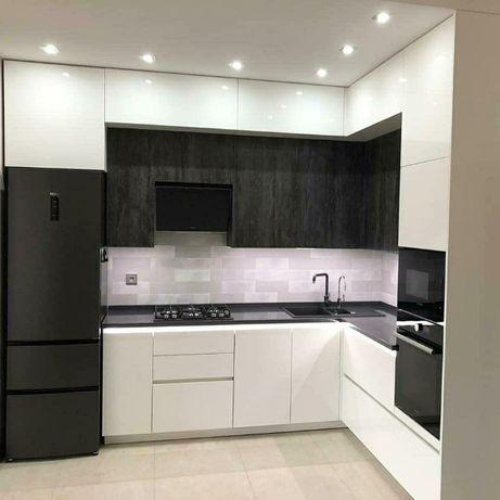 Белая Кухня на ЗАКАЗ. Угловая кухня ВиЯр. Прямая Кухня. Рассрочка 0%