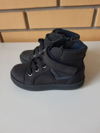 Skórzane buty jesienne,  Bobbi Shoes, Deichmann