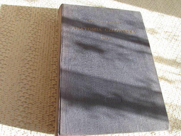 Anatomia Człowieka-Bochenek Tom 5 PZWL 1960 Okładka Twarda 630 strony