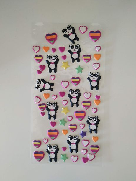 Stickers autocolantes e washi tape