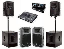 Aluguer de som para bandas e enventos(Drive in, casamentos, batizados)