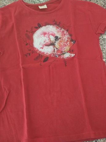Lote de 3 t-shirts Zara tam 9-10 menina