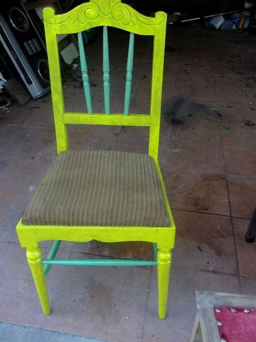 cadeiras antigas para decoração