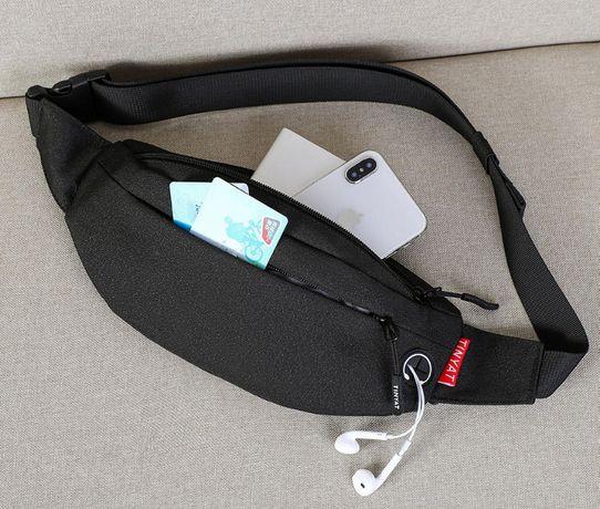 168 Бананка сумка на пояс мужская женская для детей через грудь карман