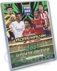 Album Panini Fifa 365 Adrenalyn XL 2021 UpdateEdition+50 kart teammate