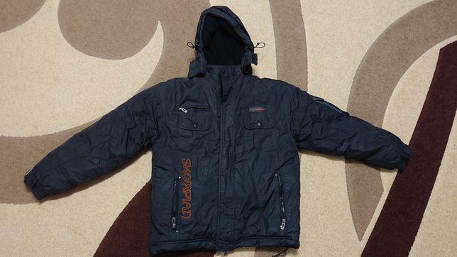 Куртка зимняя для мальчика 158