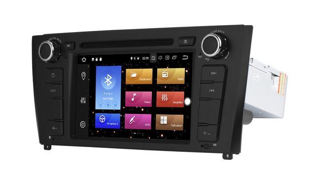 Radio BMW 1 ANDROID 9.0 / 4GB E81 E82 E87 E88 Navi 2DIN PX5 MAPY 24H