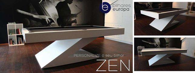 Bilhares europa Fabricante ® Snooker Modelo ZEN oferta tampo jantar