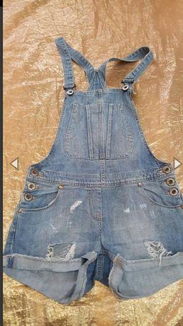 Комбинезон джинс шорты