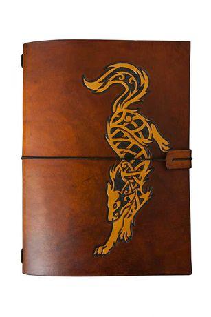 Okładka A5 + notes Travelers Journal handmade