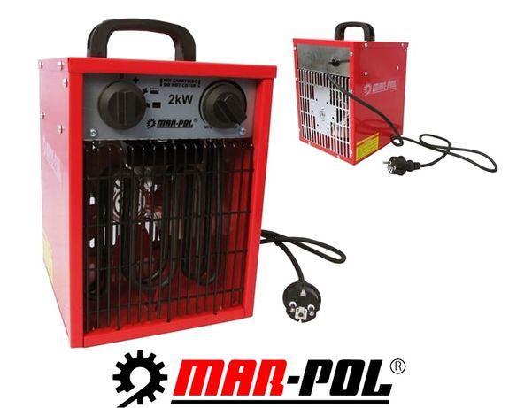 MAR-POL nagrzewnica elektryczna dmuchawa FARELKA PIEC 2kW