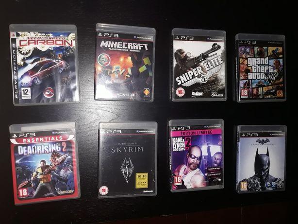 Jogos PS3 a vários Preços em Caixa Originais