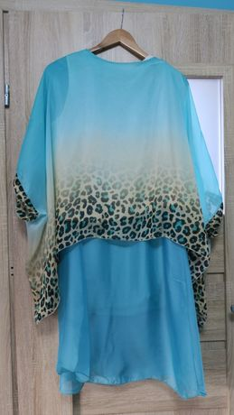 komplet bluzka spódnica