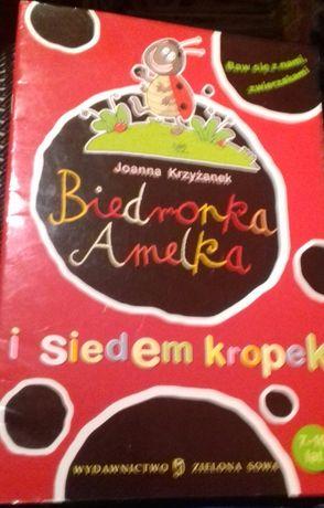 ,,Biedronka Amelka i siedem kropek'' 7-10 lat Krzyżanek Joanna