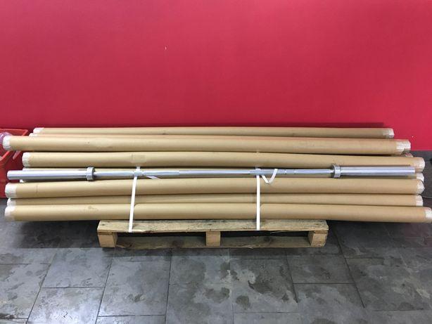 Promocja Gryf olimpijski, sztanga 220 cm + zaciski + kurier w cenie