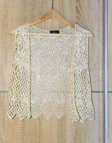 Colete Yessica tipo Crochet