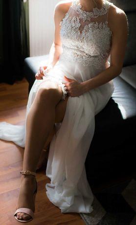 Suknia ślubna r.36 S