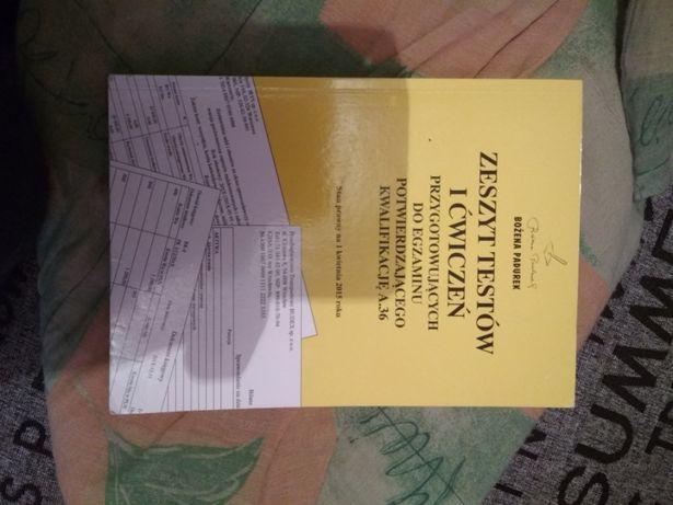 zeszyt testów i ćwiczeń przygotowujących do egzaminu rachunkowość
