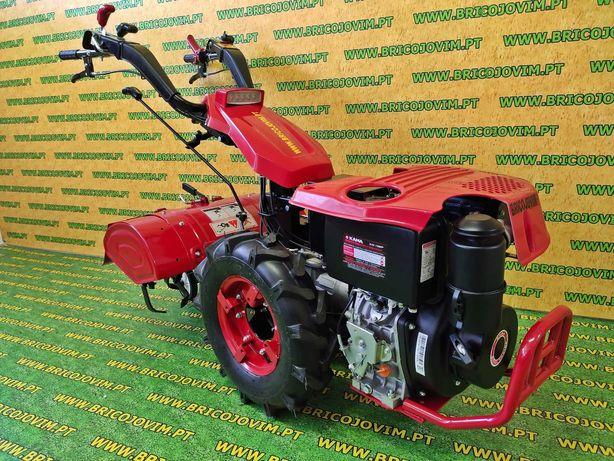Motocultivador Novo 10 Cv Diesel + Fresa + Desbloqueio + 5vel - NOVOS