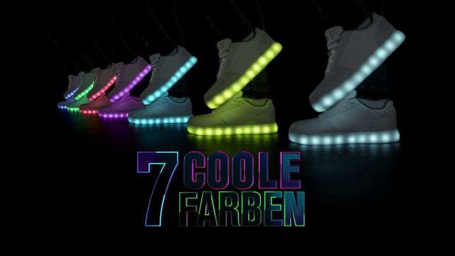 Buty LED dzięcięce SKECHERS ENERGY LIGHTS  rozmiar 36 23-24cm stan BDB