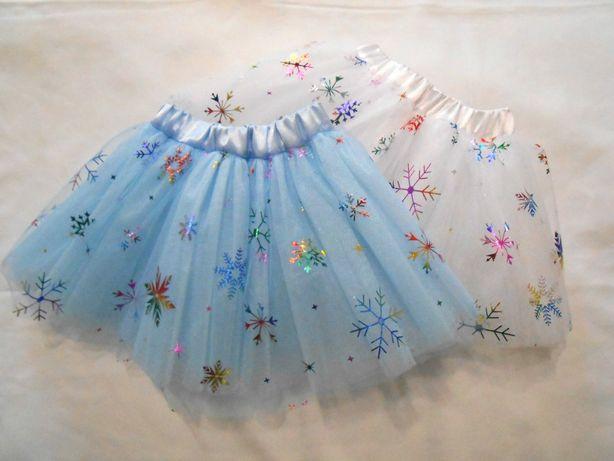 "Фатиновая юбка ""Снежинка"""