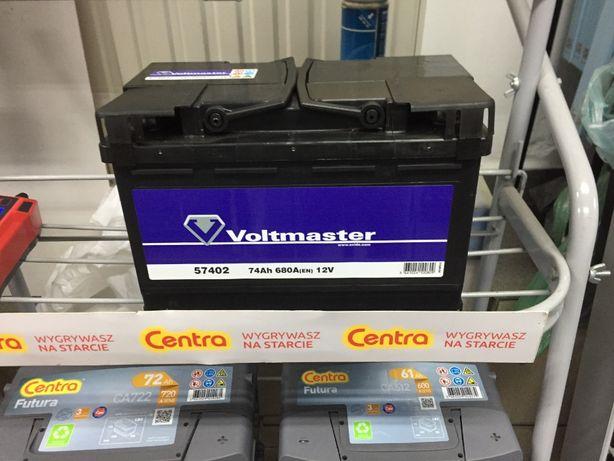 Akumulator Voltmaster 12V 74Ah 680A P+ Kraków