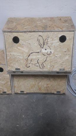 Transporter, Królik, skrzynka do przewozu królików