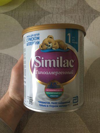 Детская смесь similac гипоалергенный без пальмового масла
