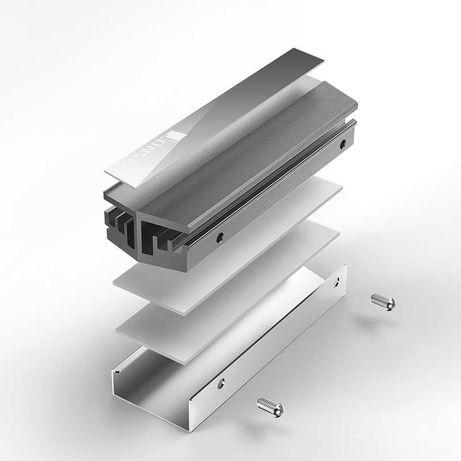 Cooler SSD M.2 Jonsbo M.2 GREY