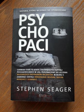"""""""Psychopaci"""", Stephen Seager"""