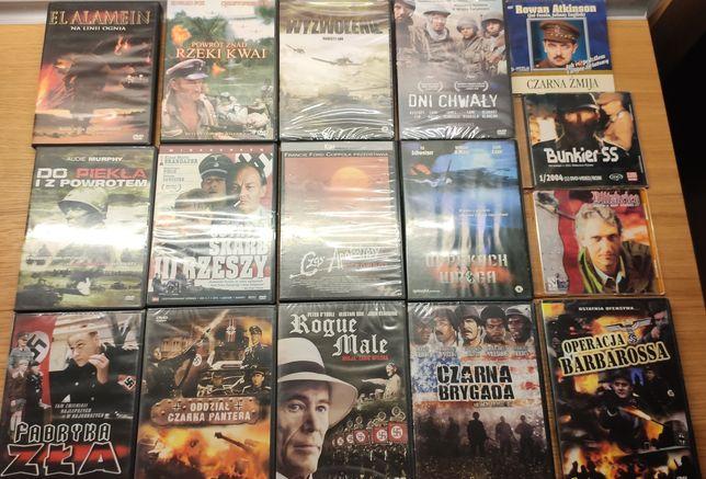 Zestaw filmów DVD wojennych. Głównie II wojna światowa